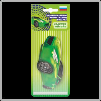 Картонные ароматизаторы (освежители) «Автомобили» — Яблоко 14