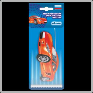 Картонные ароматизаторы (освежители) «Автомобили» — Яблоко 8