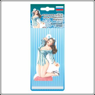 Картонные ароматизаторы (освежители) «Девушки» — Яблоко 10