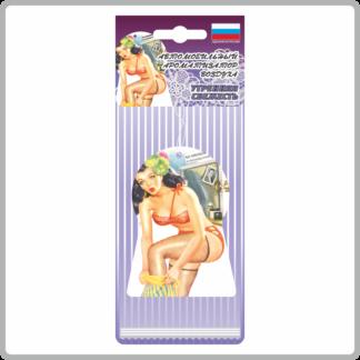 Картонные ароматизаторы (освежители) «Девушки» — Яблоко 14