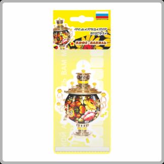 Картонный ароматизатор (освежитель) «Удачи на дороге!» — Ваниль 12