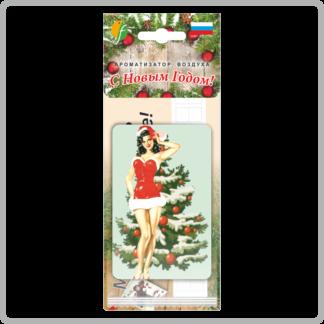 Картонный ароматизатор (освежитель) «Удачи на дороге!» — Ваниль 5