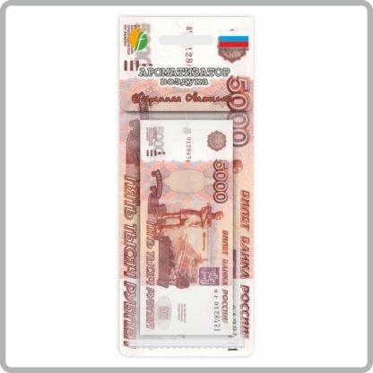 Картонные ароматизаторы (освежители) «Деньги» — Утренняя свежесть 8